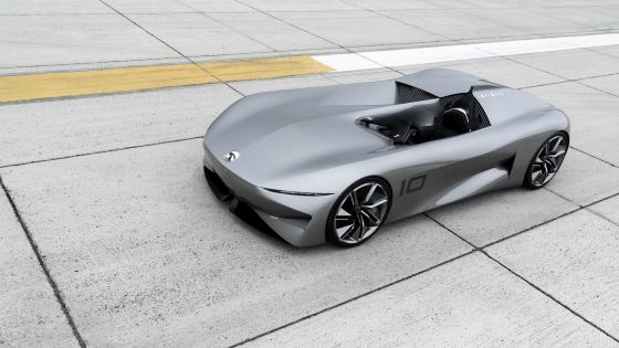 Infiniti Prototype 10 concept car wallpaper
