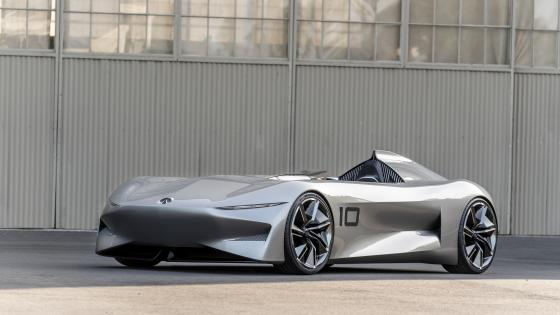 Infiniti Prototype 10 front side view wallpaper
