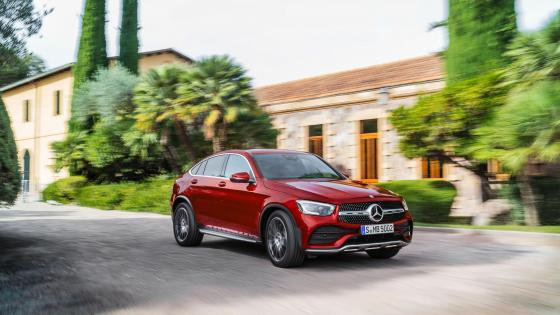 Mercedes-Benz GLC300 Coupe wallpaper