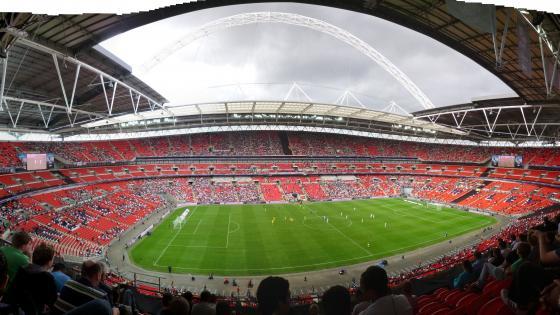 Wembley Stadium Panorama wallpaper