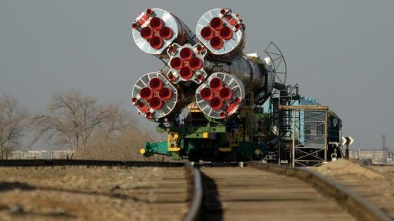 Expedition 59 Soyuz Rollout wallpaper