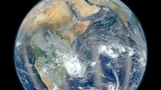 Blue Marble 2012 - Africa wallpaper