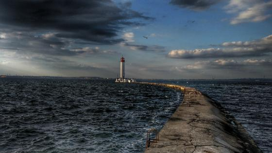 Vorontsov Lighthouse, Odessa wallpaper