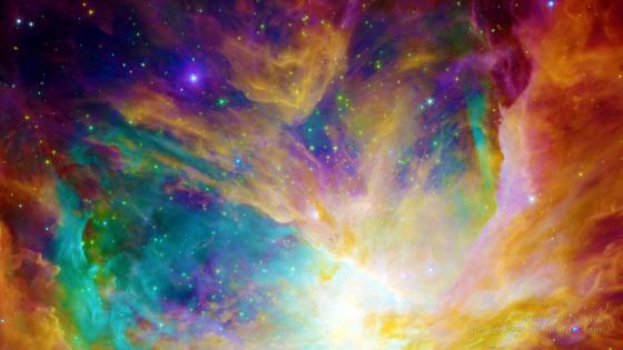 Rainbow Nebula wallpaper