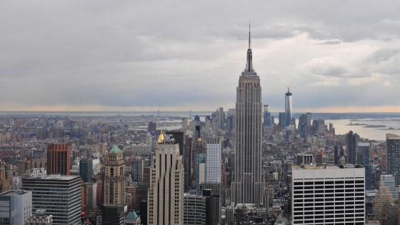 Manhattan & The Empire State Building wallpaper