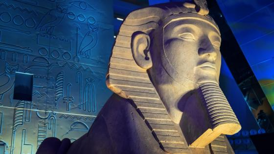 Great Sphinx of Giza at Luxor Las Vegas wallpaper