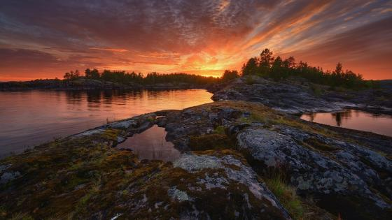 Lake Ladoga wallpaper