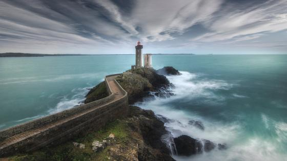 Petit Minou Lighthouse wallpaper