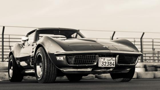 Chevrolet Corvette classic car wallpaper