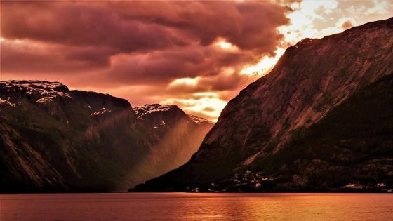Eidsfjord, Norway wallpaper