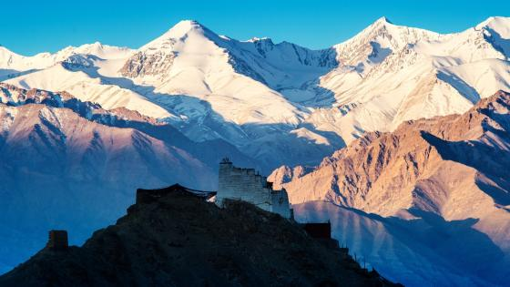 Mountains of Leh, India wallpaper