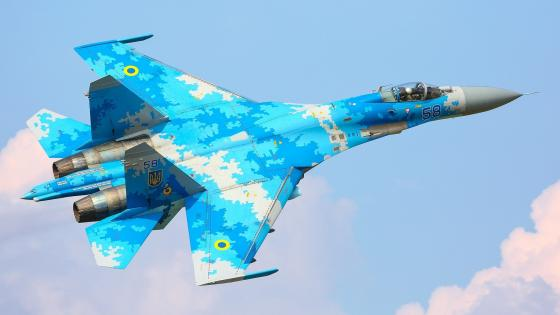 Sukhoi Su-27 wallpaper