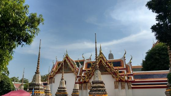Grand Palace in Bangkok. wallpaper