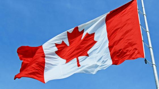 Canadian Flag on Canada Day wallpaper