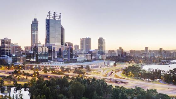Perth Panorama wallpaper