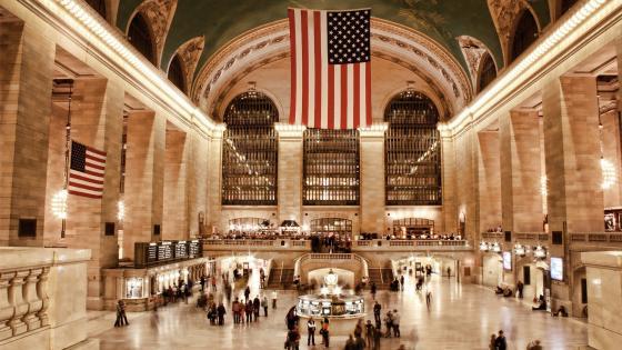 New York Central Station wallpaper