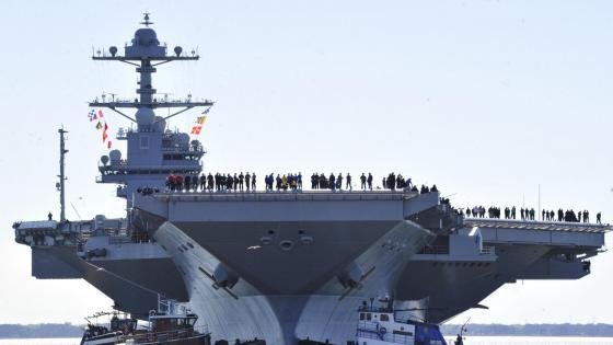 USS FORD(CVN78) wallpaper