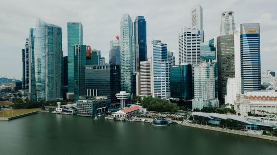 Downtown Singapore wallpaper