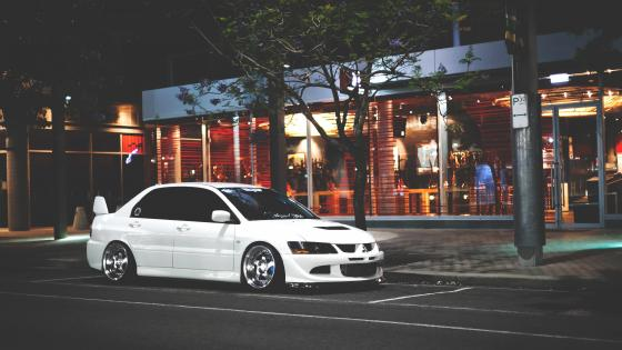 Mitsubishi Lancer Evo 8 wallpaper