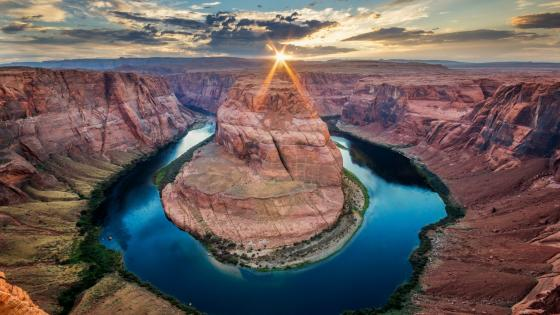 Horseshoe Bend, Grand Canyon wallpaper