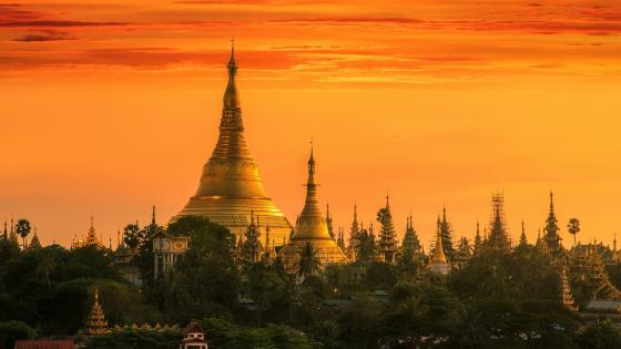 Shwedagon Pagoda, Myanmar wallpaper