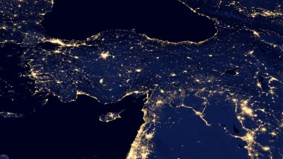 Night Lights of Turkey v2012 wallpaper