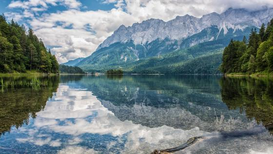 Eibsee lake, Germany wallpaper