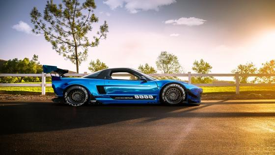 Honda NSX tuning car wallpaper