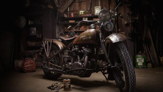 Old Harley-Davidson wallpaper