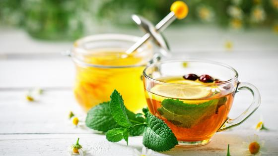 Herbal tea wallpaper