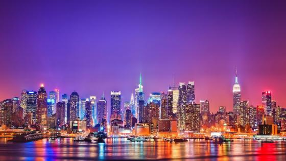 View of New York wallpaper