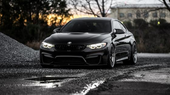 Black BMW wallpaper