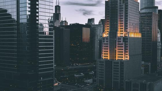 Chicago skyscrapers wallpaper