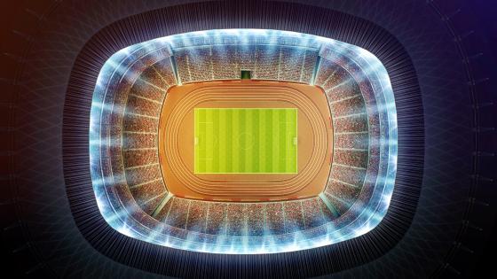 Stadium from above wallpaper