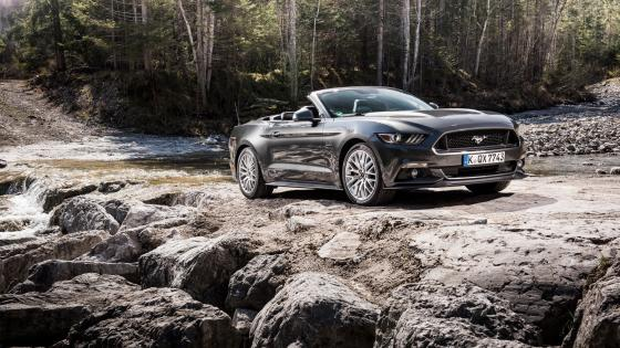 Ford Mustang cabrio wallpaper