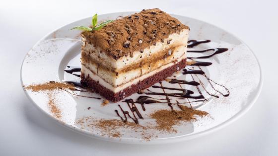 Tiramisu cake wallpaper