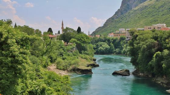 Neretva wallpaper