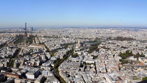 Panoramic Cityscape wallpaper