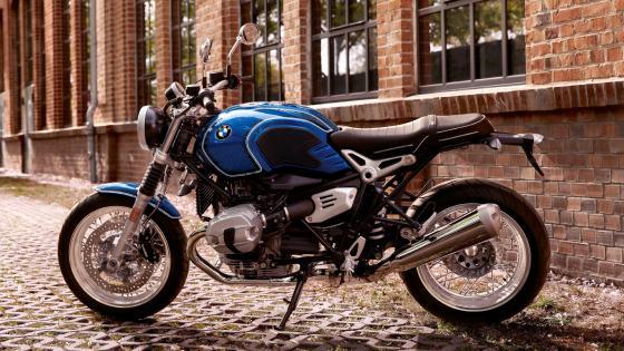 BMW Motorcycle 2019 R NineT 5 Side wallpaper