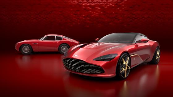 Aston Martin DBS GT Zagato wallpaper