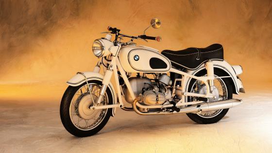 Retro BMW R69S Motorcycle wallpaper