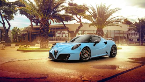 Alfa Romeo 4C Zeus By Pogea Racing wallpaper