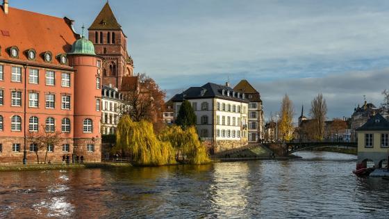 Strasbourg, Alsace, France wallpaper