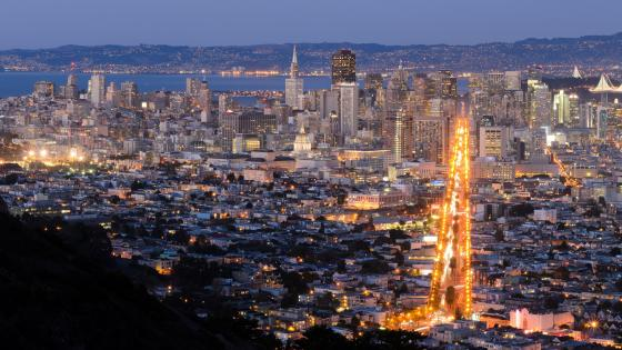 San Francisco Cityscape wallpaper