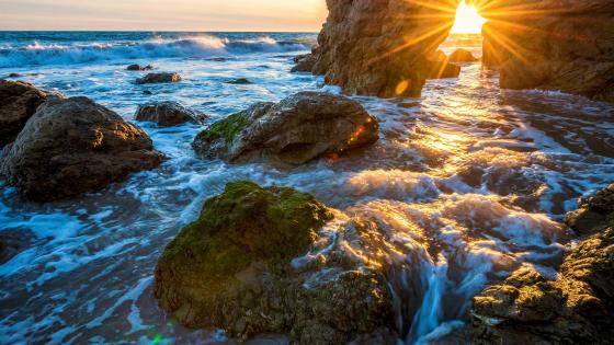 El Matador State Beach, Malibu wallpaper