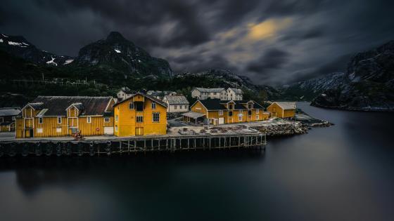 Nusfjord wallpaper