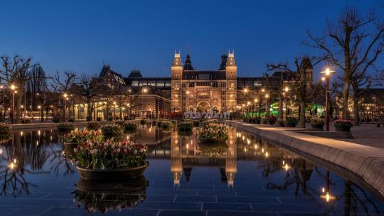 Rijksmuseum, Amsterdam wallpaper