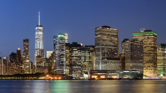 Lower Manhattan Panorama wallpaper