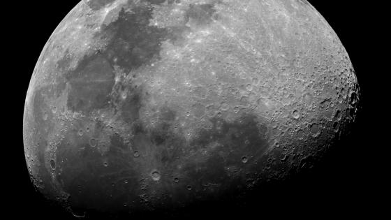 Waxing Gibbous Moon wallpaper