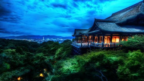 Kiyomizu-dera Buddhist Temple wallpaper